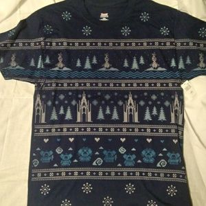 """Disney's Frozen """"Ugly Sweater"""" Large T-Shirt"""